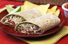 Hungry Girl's Healthy Spicy Black Bean & Avocado Turkey Wrap Recipe