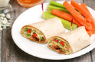 Hungry Girl's Healthy Wedge Salad Wrap Recipe