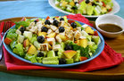 Hungry Girl's Healthy Chick-a-licious Fruity Green Salad Recipe