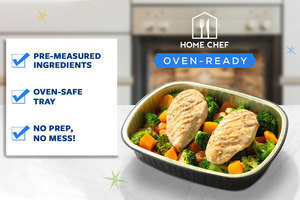 Featuring Oven-Ready Meal Kits: No Prep, No Mess!