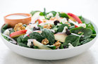 Apple Cherry Spinach Salad