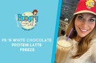 PB 'n White Chocolate Protein Latte Freeze