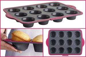 Trudeau Structure Silicone Pro Muffin Pan