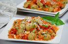 Cauliflower & Spinach Gnocchi with Fresh Tomato Sauce