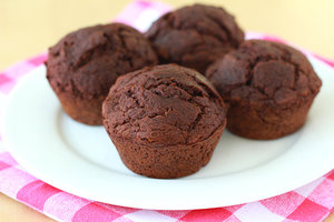 Yum Yum Brownie Muffins