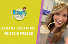 Hungry Girl's Healthy Banana Cream Pie Protein Freeze Recipe
