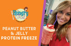 Hungry Girl's Healthy Peanut Butter & Jelly Protein Freeze Recipe