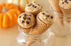 Hungry Girl's Healthy PPumpkin Pie Cannoli Cones Recipe