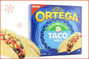 Ortega Cauliflower-Infused Taco Shells and Tortillas