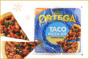 Ortega Taco Pizza Kit