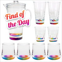 Merritt International Acrylic Rainbow Drinkware