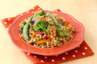 Hungry Girl's Healthy Veggie-Loaded Quinoa Stir Fry Recipe