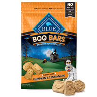 The Blue Buffalo Co. Boo Bars Pumpkin & Cinnamon Crunchy Dog Biscuits