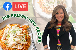 Join Lisa Live TONIGHT on Facebook: New Recipe, Trivia, and Free-Product Coupons!