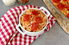 Hungry Girl's Healthy Baked Pizza Mac 'n Cheese Recipe