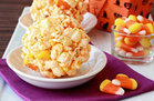 Hungry Girl's Healthy Candy Corn Popcorn Balls Recipe