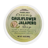 Trader Joe's Creamy Cauliflower Jalapeño Dip