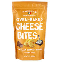 Trader Joe's Oven-Baked Cheese Bites with Black Summer Truffle