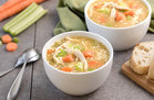 Hungry Girl's Healthy Chicken & Cauliflower Rice Soup Recipe