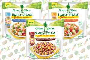 Green Giant Simply Steam Made with Dash Salt-Free Seasoning