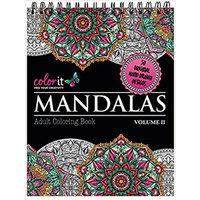 Mandalas Adult Coloring Book Volume II