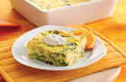 Hungry Girl's Healthy Caramelized Onion 'n Spinach Egg Bake Recipe