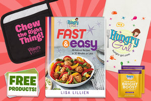 "Hungry Girl Fast & Easy ""5 Books, 5 Sets of Swag!"" Preorder Package"