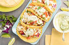 Hungry Girl's Healthy Double Stuffed Fish Tacos Recipe