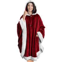 PAVILIA Angel Wrap Hooded Blanket