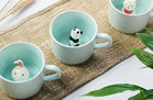 ZaH 3D Animal Inside Mug