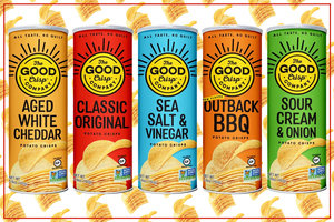 Chew: The Good Crisp Company Potato Crisps