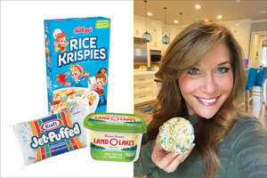 Rice Krispies Treat for One