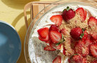 Hungry Girl's Healthy Scoopable Strawberry Cheesecake Recipe