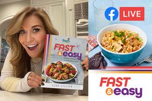 HUGE NEWS: Join Lisa for Fast & Easy Tuesdays on Facebook Live!