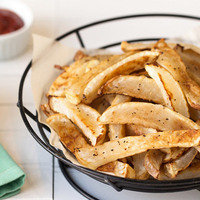 Healthy French Fries: Totally Turnip Fries