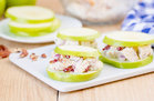 Hungry Girl's Healthy Chicken Salad Apple Sandwiches Recipe