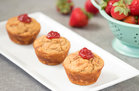Hungry Girl's Healthy PB&J Protein Muffins Recipe
