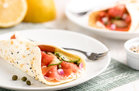 Hungry Girl's Healthy Everything Bagel & Lox Crepes Recipe