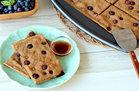 Hungry Girl's Healthy Blueberry Pancake Breakfast Bars Recipe