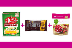 Choco-Berry Popcorn