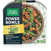 Healthy Choice Power Bowls Meatless Be'f & Vegetable Stir Fry