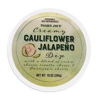 Creamy Cauliflower Jalapeño Dip
