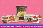HG's Official Trader Joe's Grocery List