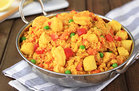 Cauliflower Rice Paella