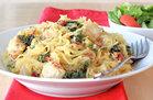 Hungry Girl's Healthy Creamy Kale Spaghetti Squash Recipe