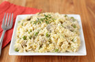 Hungry Girl's Healthy ANoodle-Free Chicken Tetrazzini Recipe