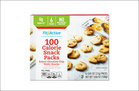 Fit & Active Baked Chocolate Chip Wafer Snacks 100 Calorie Snack Packs