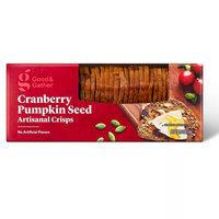 Good & Gather Cranberry Pumpkin Seed Artisanal Crisps