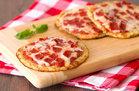 Cutie-Pie Cauliflower-Crust Pepperoni Pizzas