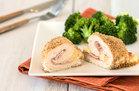 Hungry Girl's Healthy Crispy Chicken Cordon Bleu for Two Recipe